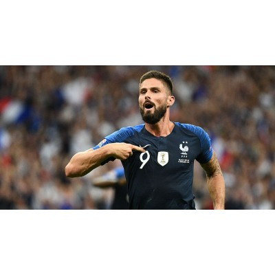 Olivier Giroud överträffar Zinedine Zidane i Frankrikes all-time scoring diagram
